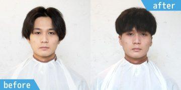 【カット編】直毛でも収まるハイウエイトマッシュスタイル
